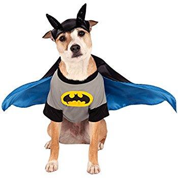 batman pet costume xl