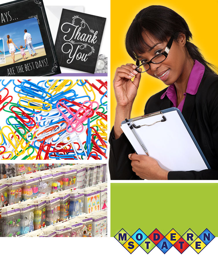 stationery supplies at Modern Sate News